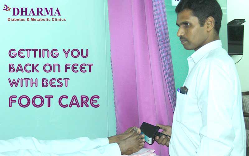 Getting you back on Feet with best Foot care