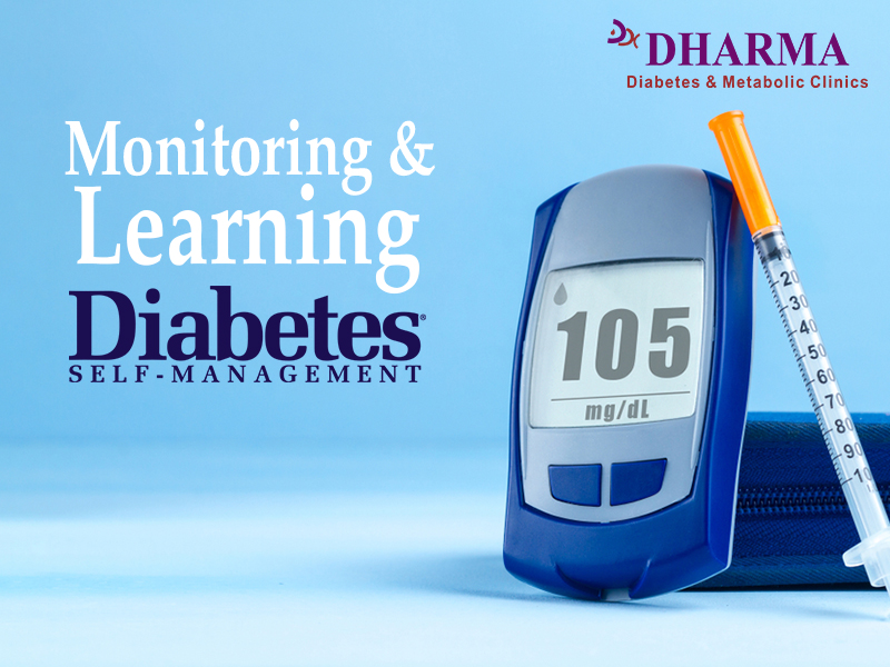 Monitoring and Learning Diabetes Self-Management