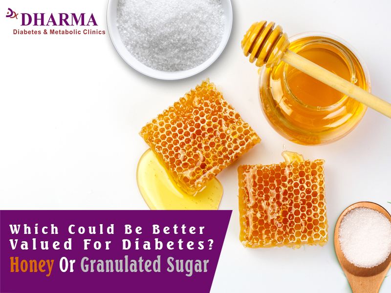 Which could be better Valued for Diabetes? Honey or Granulated sugar